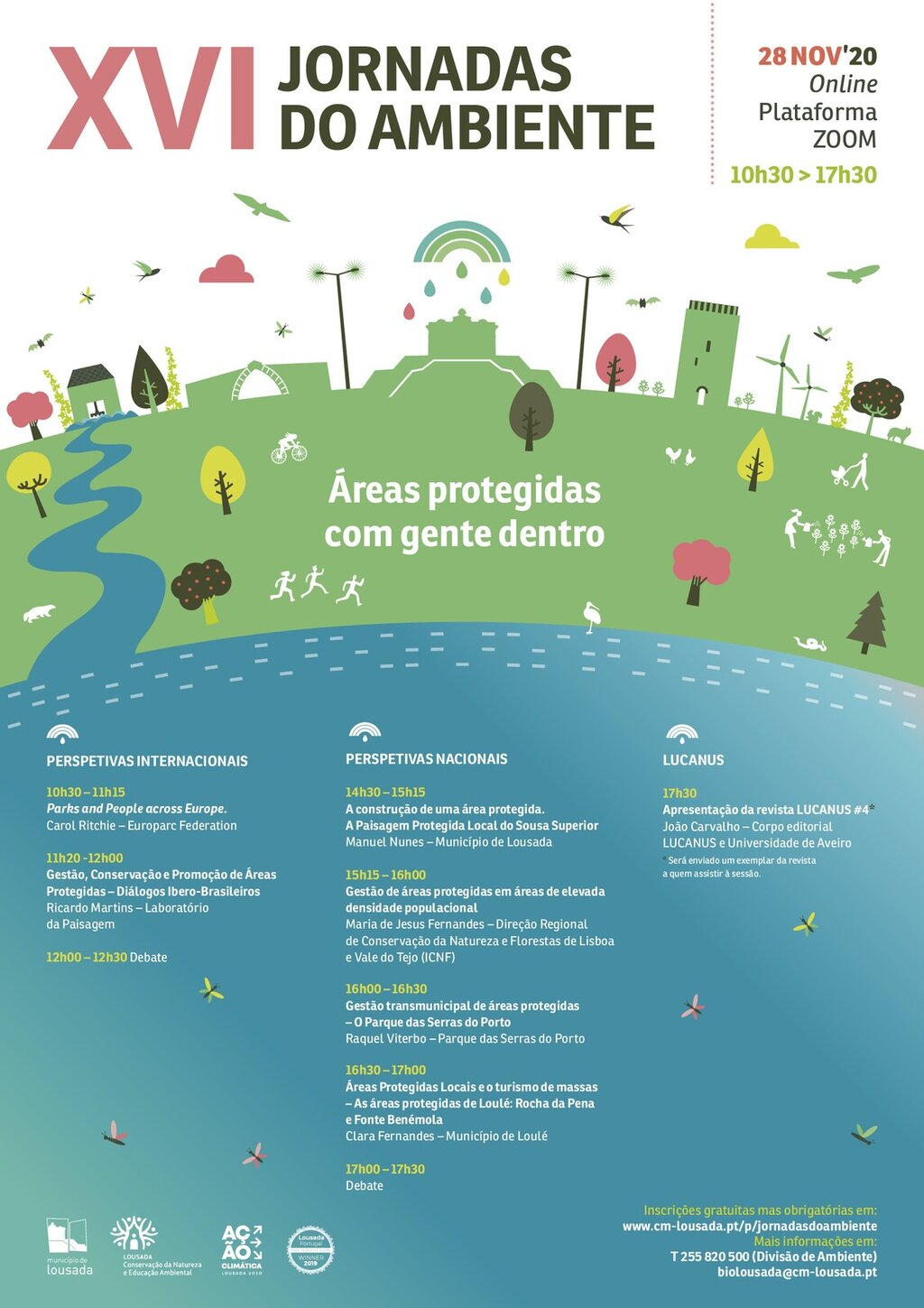 Cartaz Jornadas do Ambiente